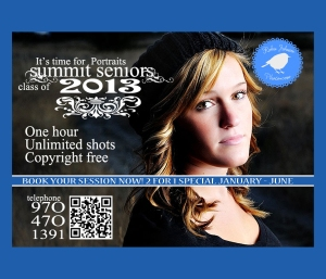 Summit Senior portraits Breckenridge Colorado